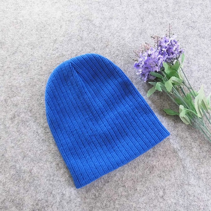 e3b9362e445 Baby Hat Kids Newborn Knitted Cap Crochet Solid Children Beanies Boys Girls  Hats Headwear Toddler