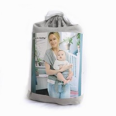 Carrier Sling Infant Wrap Kangaroo Natural Cotton Hipseat Carrying Sling Ergonomic Baby Carrier B