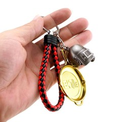 Keychain Toy Battle Royale Action Figure From FORTNIGHT Alloy Weapon Model PUBG Gift Fort Night