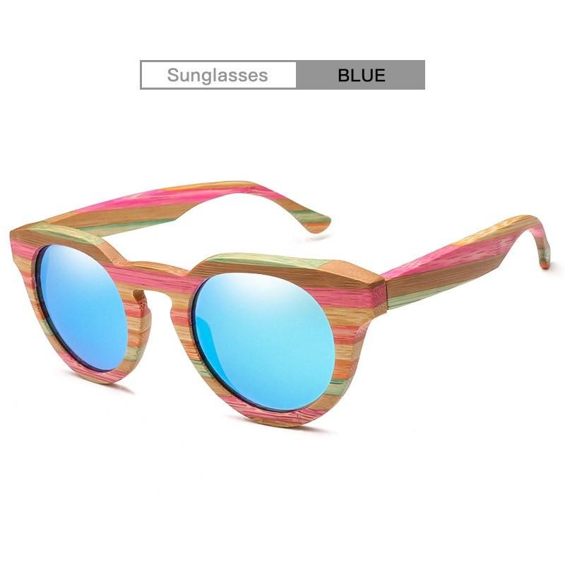 093bbeca1c Wood Sunglasses Women Polarized Men Glasses Bamboo Graffiti Frame ...