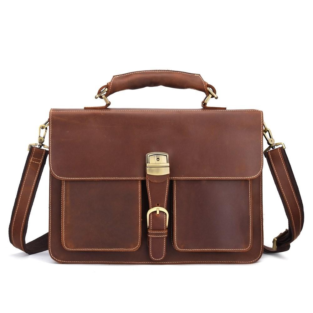 b015a3b15df5 ... Crazy Horse Cowhide Sling Shoulder Bag Genuine Leather Men Messenger  Briefcase Retro  Product No  6943783. Item specifics  Seller  SKU jJSmGtbcYtR  Brand ...