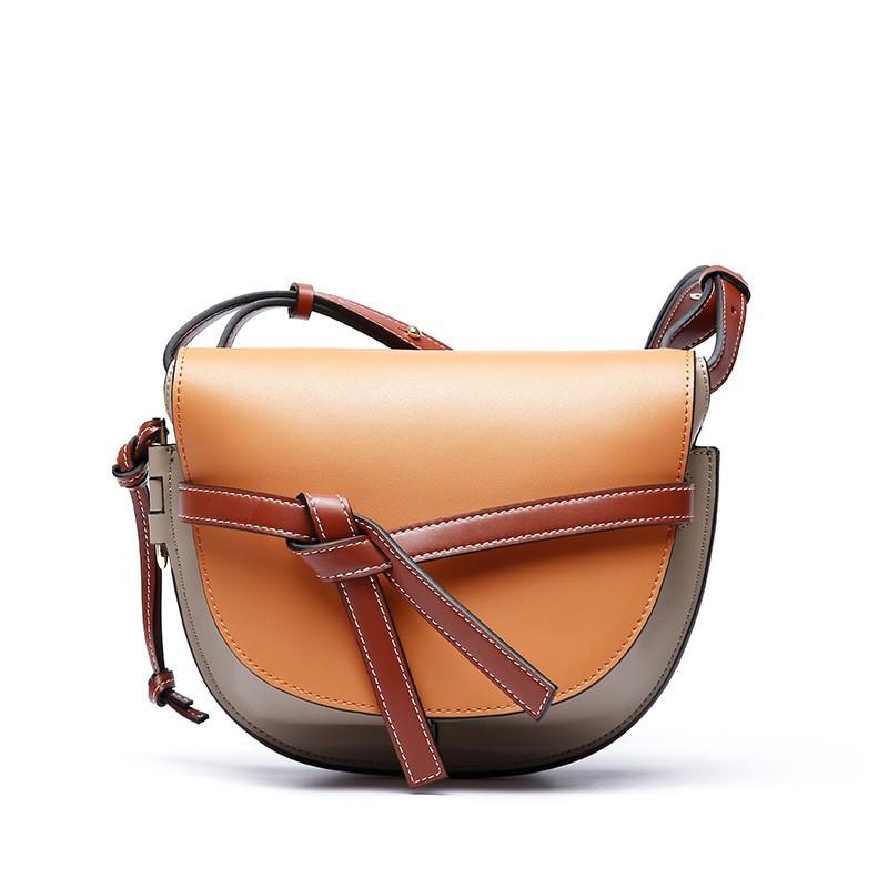 41fc5d1da0a0 New Super Star SAME Saddle bag Beautiful Genuine leather shoulder ...