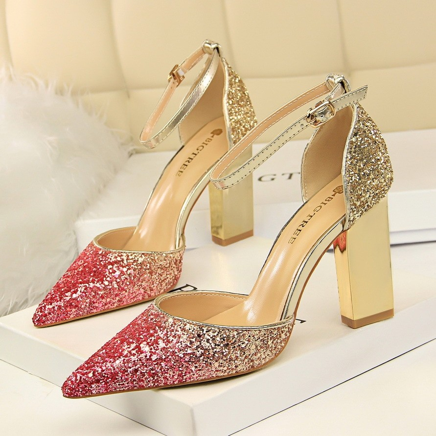 b6fe8e1f7867b6 Pumps Extrem Sexy Square High Heels Women Shoes Thin Heels Female Shoes  Wedding Shoes Ladies Shoe  Product No  7135945. Item specifics  Seller ...