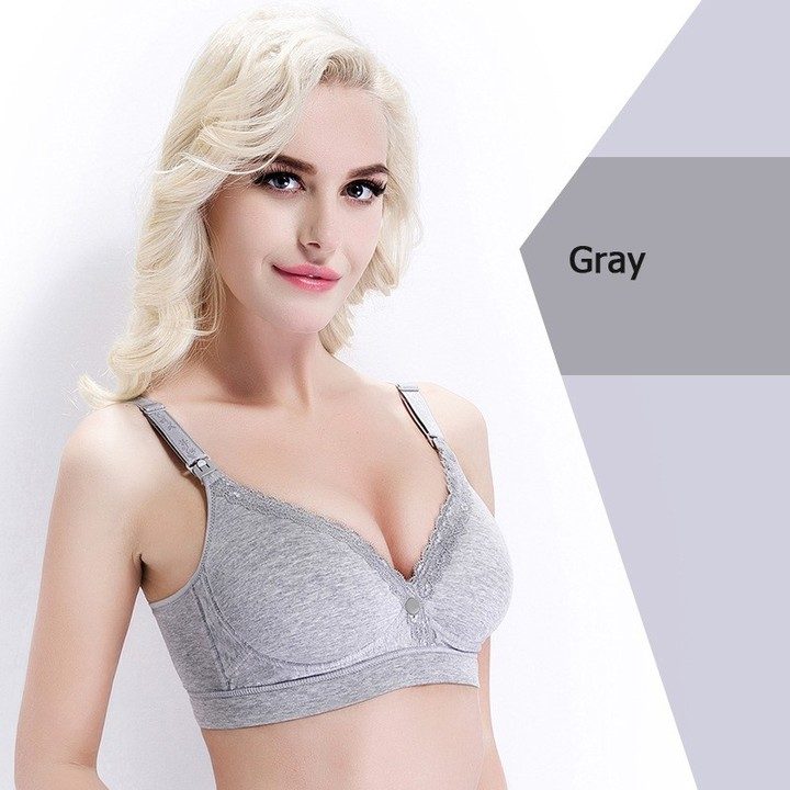 6379e6c080 New Cotton Maternity nursing bra Breastfeeding bras for Pregnant women  Pregnancy Breast feeding u