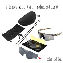 Quality Tactical Polarized Glasses Army Goggle Eyewear Shooting GLasses For Men Sport Sunglasses