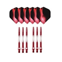 Dart Shafts Popular Nice Pattern Darts Flights Dart Accessories For Soft And Steel Darts Red Bule