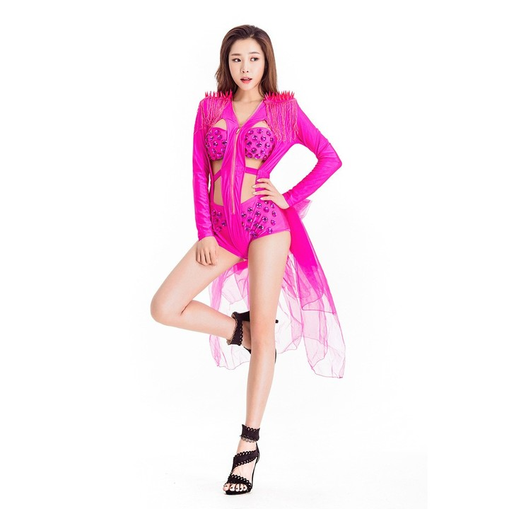 c366e0bd5 Female Singer DJ DS Costumes Bar Party Leading Dancer Jazz Hip Hop Stage  Performance Outfits