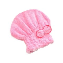 Quality Home Textile Microfiber Hair Turban Quickly Dry Hair Hat Womens Girls Ladys Wrapped Dryin