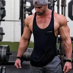 Men Tank Tops Quick Dry Breathable Athletic Running Mens Vest For Gym Fitness Slim Fit summer Spo
