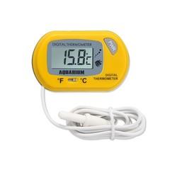 Digital LCD Screen Sensor Aquarium Water Thermometer Controller Smart Temperature Fish Alarm Pet