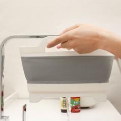 Fruit Vegetable Wash Basket Foldable Sink Strainers Colander Dish Tub Food Storage Baskets For Ki