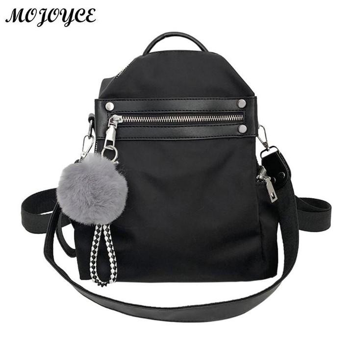 Classic Women Backpack Casual Nylon Backpacks Teenage Girls Travel Shoulder  School Bag Mini Small cef7286da6f7b