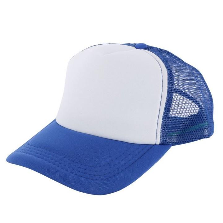 7af781a55bec5 Adjustable Baseball Cap Casual Mesh Plain Color Cap Trucker Hat Blank  Curved Hat