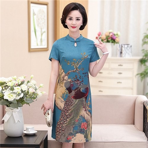 e81d8e9a7fd Yiiya Mother of the Bride Dresses Floral Prints Plus Size Embroidery Fashion  Designer Vintage Mot  Product No  7237470. Item specifics  Seller ...