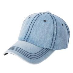 Sell Women Adjustable denim Baseball Tennis Cap Outdoor Simple Sunshade Hip-Hop Hat Dropshipping