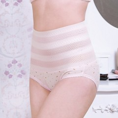 Women High Waist Panties Postpartum Breathable Tummy Belly Control Body Shaper Underwear Slimming