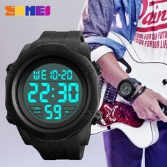 SKMEI  Waterproof Outdoor Sport Watch Watches Men Alarm Chrono Military Wristwatches Clock Relogi green