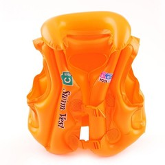Children Kids Inflatable Pool PVC Float Life Jackets Swiwmsuit Child Learning Swimming Ring Aid D