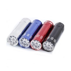 4pcs LED Mini Highlight Flashlight Emergency Lamp Torch for Outdoor Activities Supplies