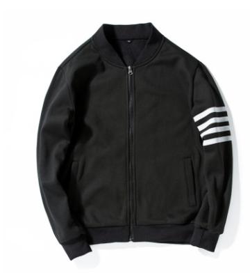 48c7beb1c130 2018 Winter Jaqueta Masculina Casual Mens Sporting Jacket Slim Fit Male  Windbreaker Bomber Jacket black m