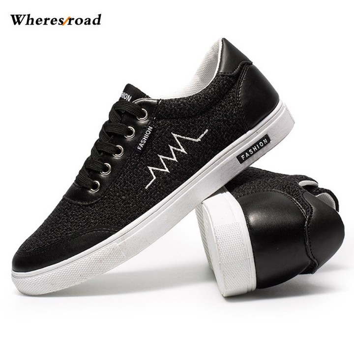 4ced5456db New Summer Breathable sneakers Anti Slippery Shoes Men low classic  Skateboarding Shoes size 39-44