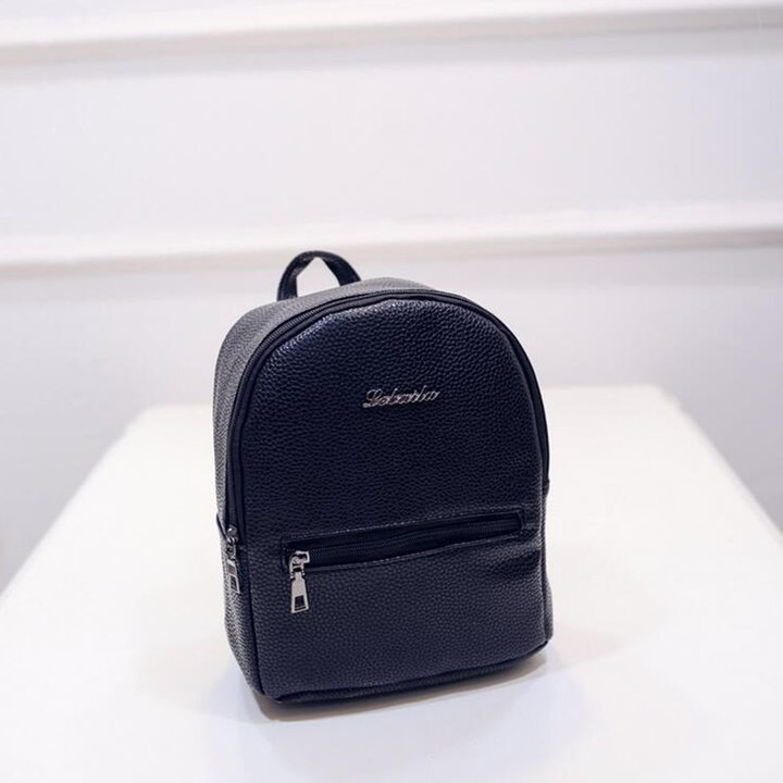 42283ea823 College Wind Girl candy color High quality PU leather Fashion Mini Shoulder Bag  Small backpack fe