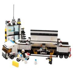 Police Station Model Building Blocks Compatible Legoings City Blocks DIY Bricks Educational Toys