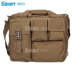 BagMultifunction Mens Military Tactical Outdoor Nylon Shoulder Messenger Bag Handbags Briefcase L