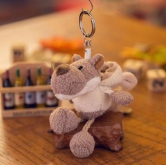 New Kids Plush Toys Animal Fluffy Rabbit 10CM Cute  kawaii anime plush keychain plush toys for ki