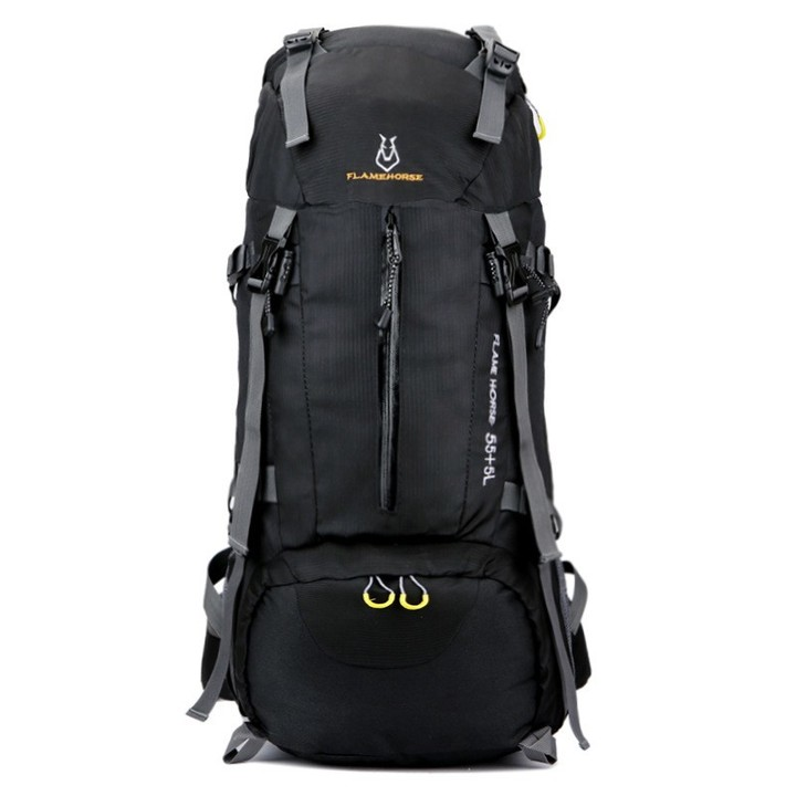 f209971388b9 Large-Capacity Camping Hiking Backpacks Lightweight Outdoor Sport Bag  Waterproof Backpack Man Tra