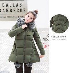 Long Coats Coat 2018 Cotton Long Cloak A Type Pregnant Women Cotton Clothes Jacket Winter Large S