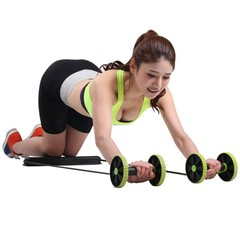 Abdominal Trainer Build Perfect Curve Body Portable Sport Pull Rope Health Muscle Home Training E as photo One Size