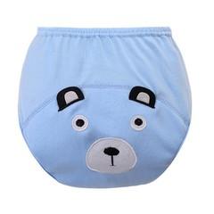Monthes 1 PCS Washable Cloth Nappy Baby Diaper Reusable Cartoon Design