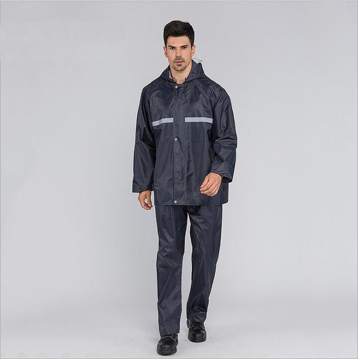 Hot Men Suit Raincoat Thickened Waterproof Rain Coat Breathable Camping Waterproof Rainwear Tour