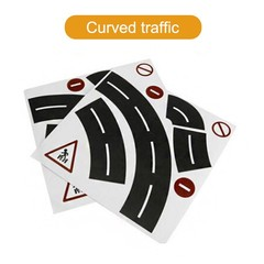 Tape for Car Toys Car Runway Adhesive Tape Play Room Floor Sticker Removable Track  AN88