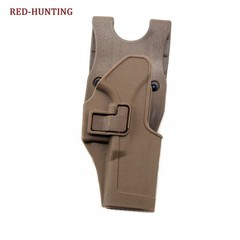Tactical CQC Right Hand Paddle Pistol Holster for Glock 17 19