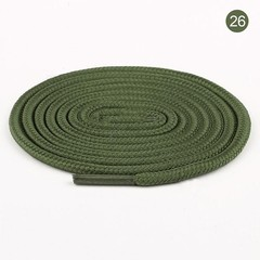 26 Colors Extra Long Round Shoelaces Shoe Laces Shoestrings Cords Ropes for Martin Boots Sport Sh