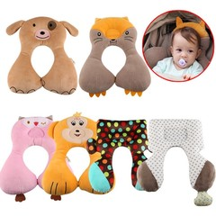 Animal U Shape Baby Pillow Neck Protection Pillow For Kids Infant Toddler Car Safety Seat Pillow