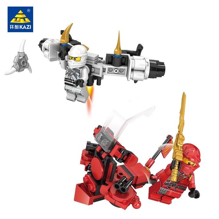 Ninjago Transform Car Robot Figures DIY Building Block 8 in 1 toys for chlidren Compatible With l