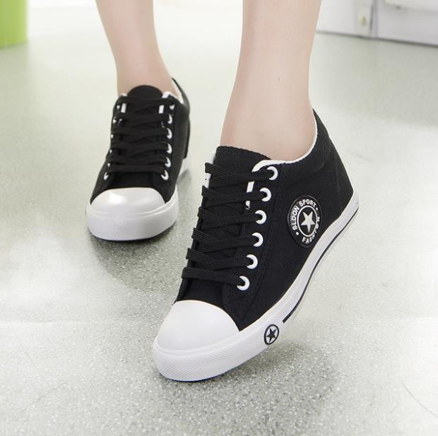 94f8c40984196 Summer Sneakers Wedges Canvas Shoes Women Casual Shoes Female Cute White  Basket Stars Zapatos Muj  Product No  7385806. Item specifics  Seller ...