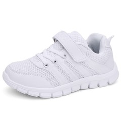 Black Kids Shoes Summer Breathable Mesh Children Sneakers Llightweight Sports Sneakers Boys Girls