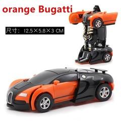 Toy New Model Hornet One Button Inertia Impact PK Car Robot Boy Christmas Gift