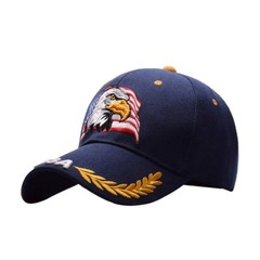 Women Men Sports Cap Eagle USA Embroidered Cotton Hat Adult Sportswear Accessories