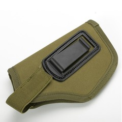 Oxford Cloth Durable Outdoor Tactical Concealed Belt Holster Waist Bag for All Compact Subcompact