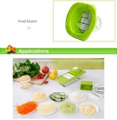 Slicer Manual Vegetable Cutter 5 Blades Grater Onion Fruit Slicer Cutter Potato Carrot Grater Kit