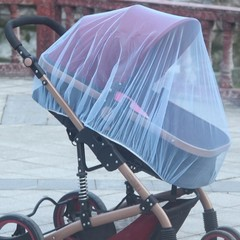 Stroller Pushchair Mosquito Insect Shield Net Safe Infants Protection Mesh Stroller Accessories M