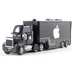 Style Disney Pixar Cars 3  NO.61  Lightning McQueen Mack Truck  1:55 Diecast Metal Alloy Modle Fi