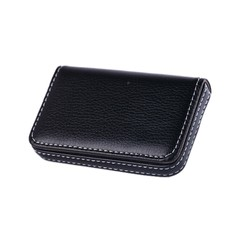 6 colos Gift for Friends New Year Pocket PU Leather Business ID Credit Card Holder Case Wallet Of