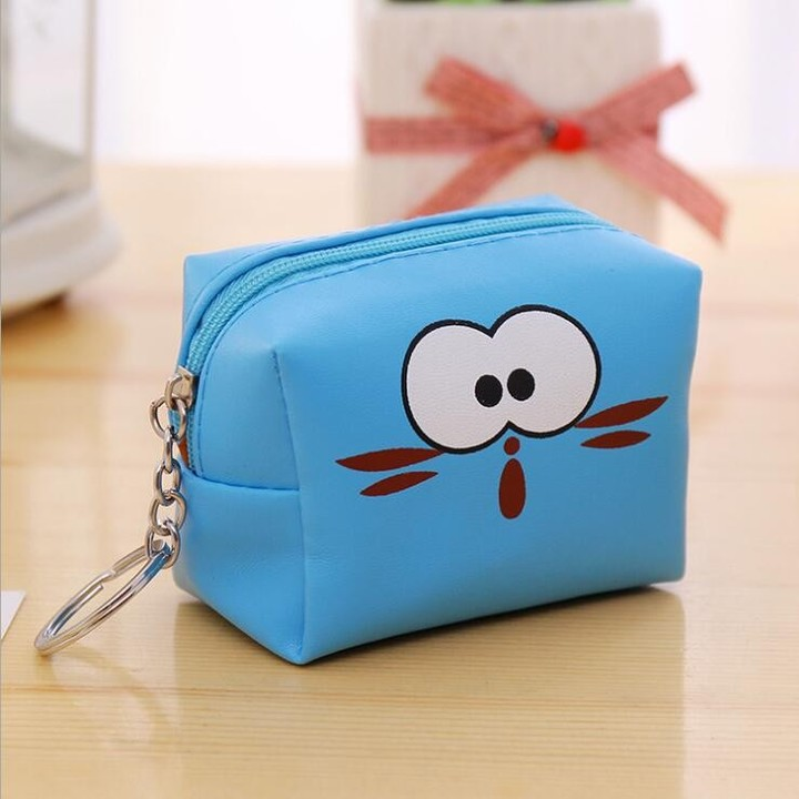 Sweet Cute genuine Cosmetic Bag Travel Organizer Portable Toiletry Kit Mini Purse Makeup Pouch Ma
