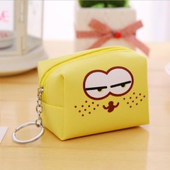Sweet Cute genuine Cosmetic Bag Travel Organizer Portable Toiletry Kit Mini Purse Makeup Pouch Ma